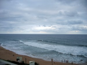 The beautiful beach at Ballito (image courtesy of Wikipedia)